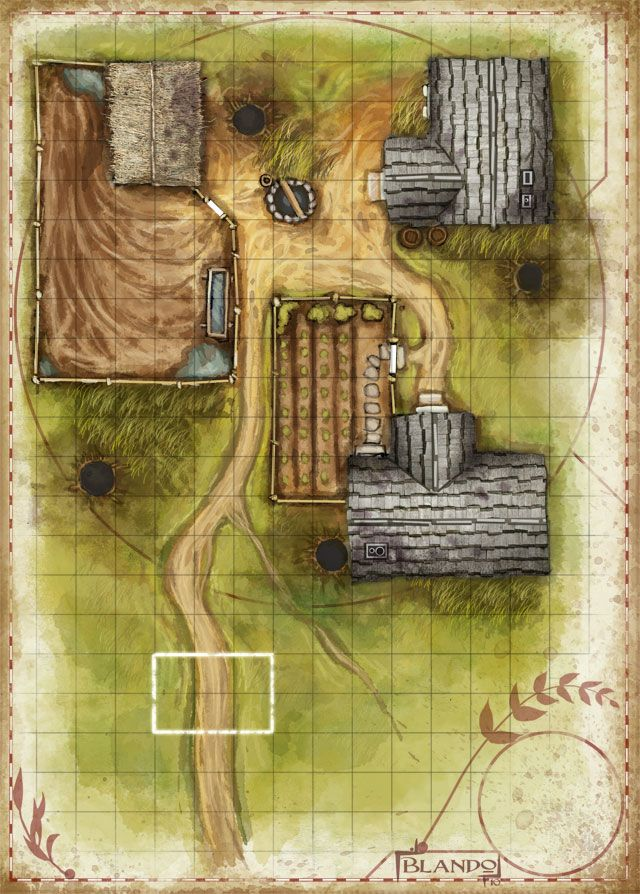 Dungeons & Dragons clipart farm map 17 on Pin Find more