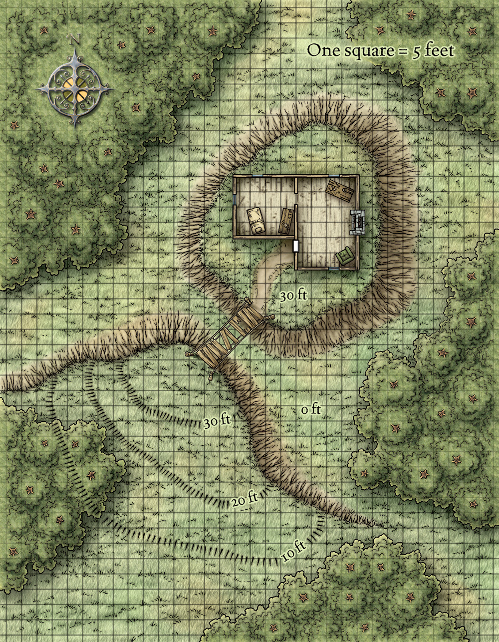 Dungeons & Dragons clipart farm map Traditional 32287240 Page 4473 Games