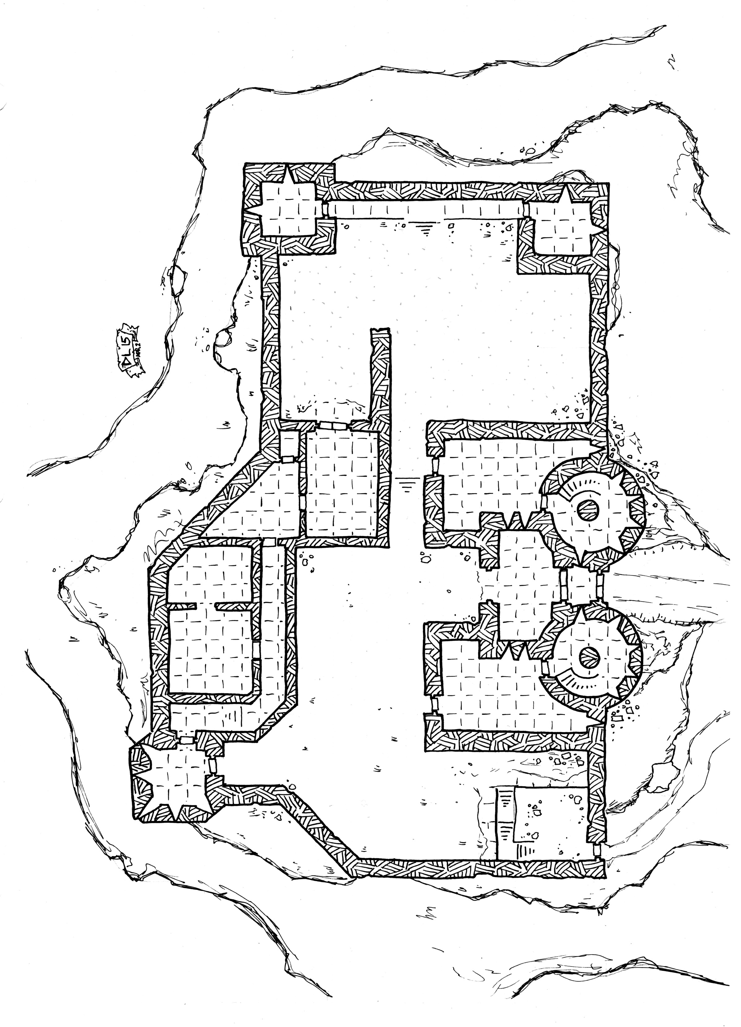 Dungeons & Dragons clipart fortress #13