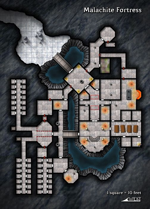 Dungeons & Dragons clipart fortress #3