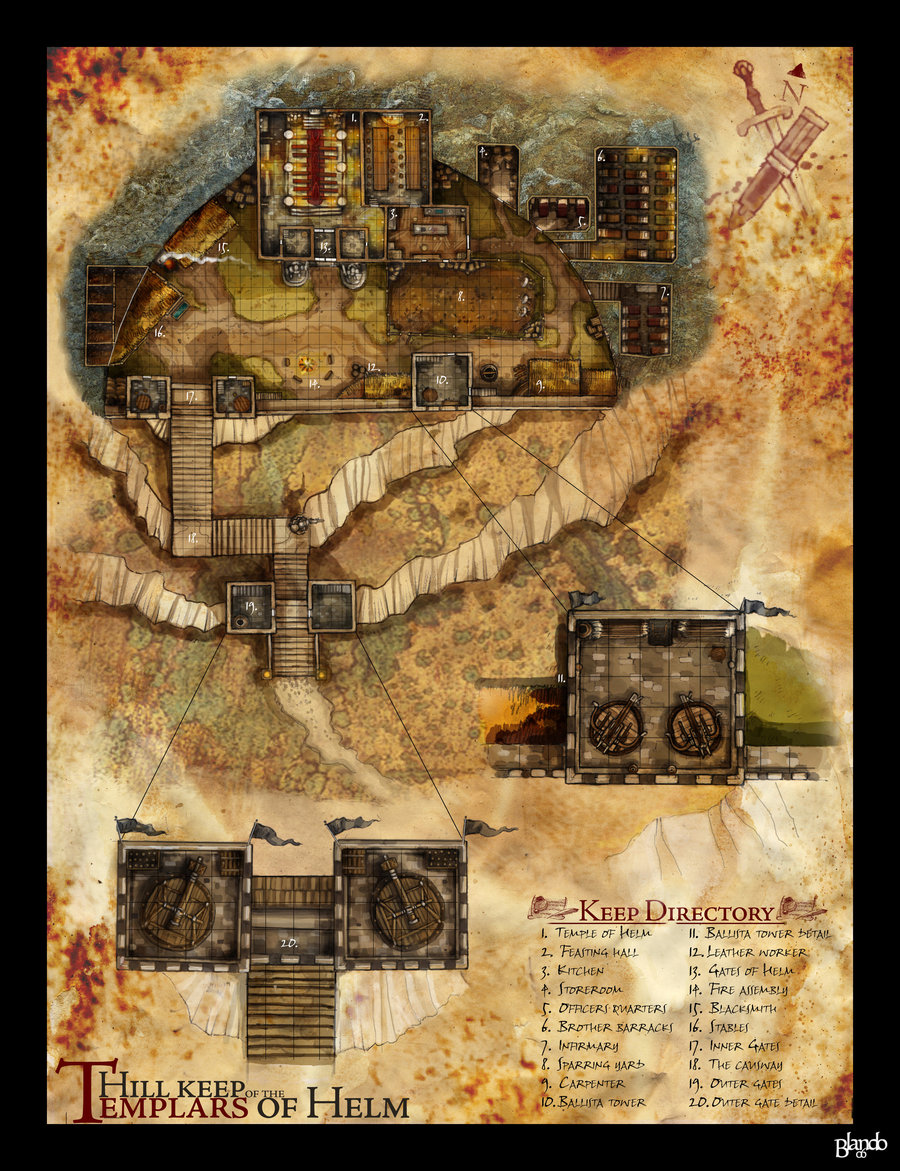 Dungeons & Dragons clipart fortress #4