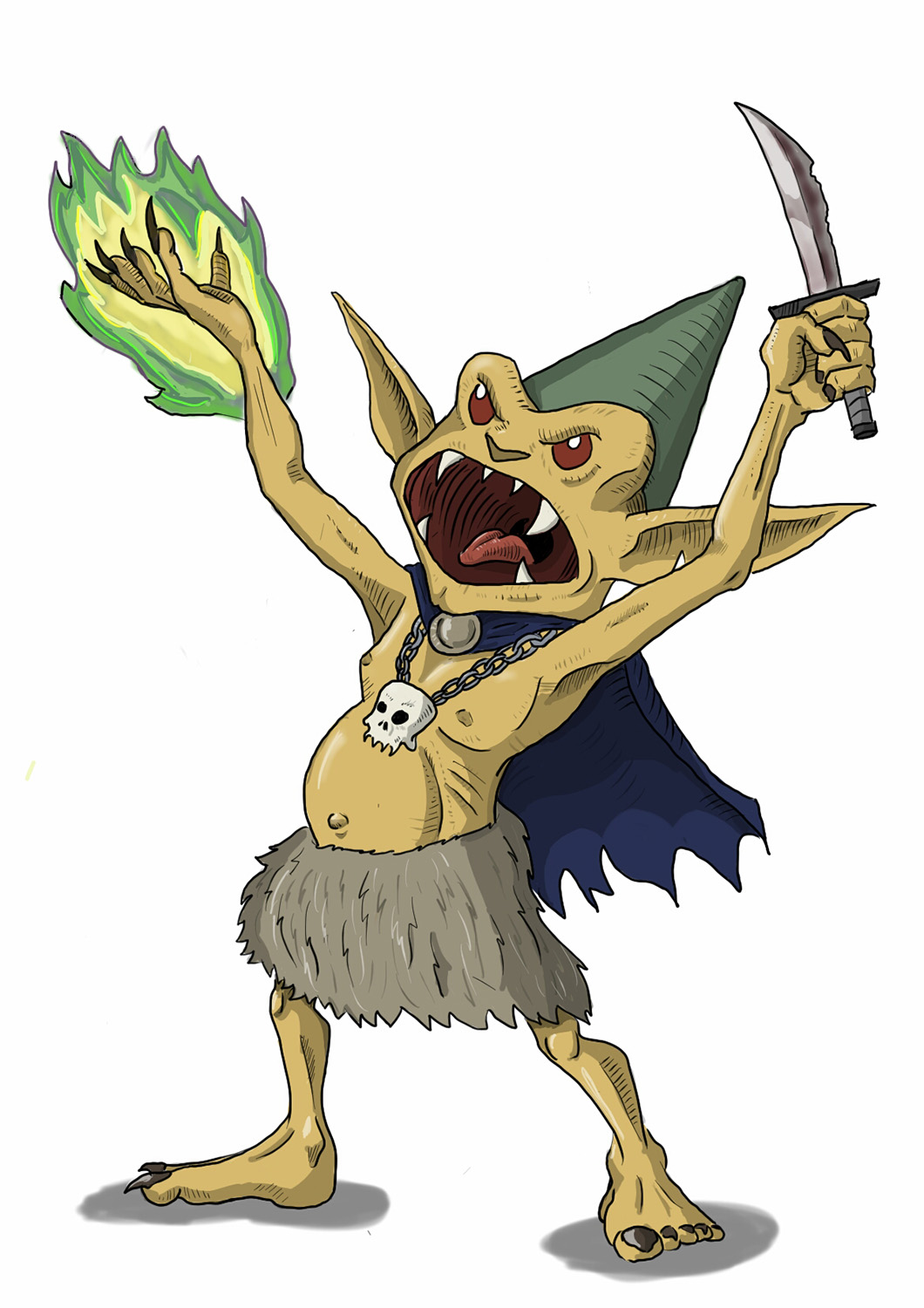 Dungeons & Dragons clipart goblin Acolyte  Monsters: Basic Goblin