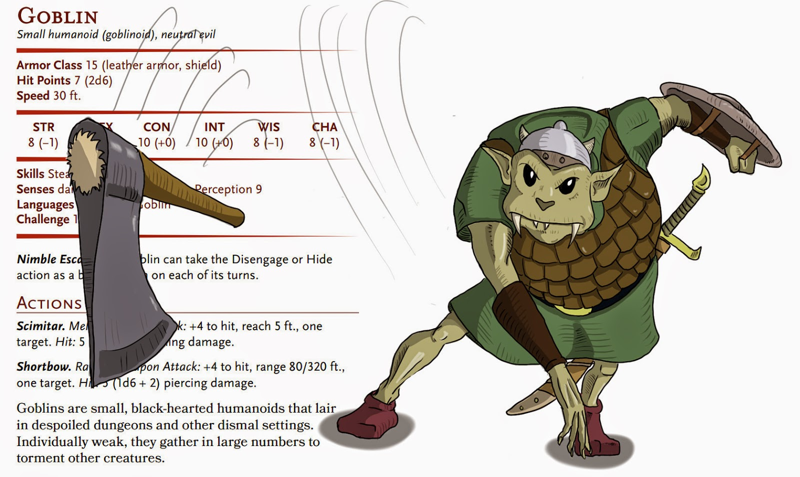 Dungeons & Dragons clipart goblin Era of later the Diterlizzi