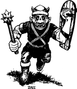 Dungeons & Dragons clipart goblin Posed a they between of