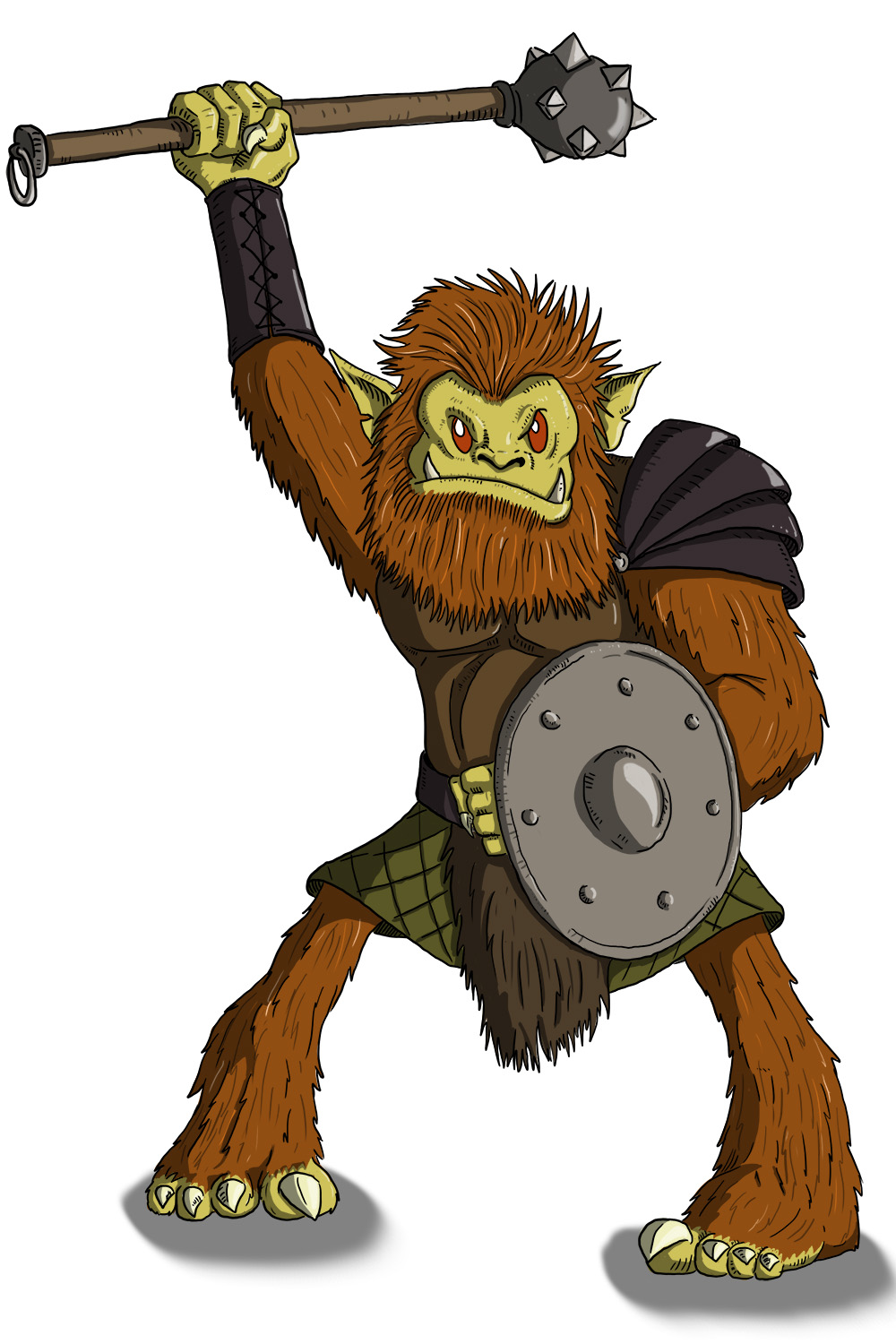 Dungeons & Dragons clipart goblin  Monsters: Basic Bugbear D&D