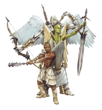 Dungeons & Dragons clipart greatclub Casa Angelic D&D: of Cabeza: