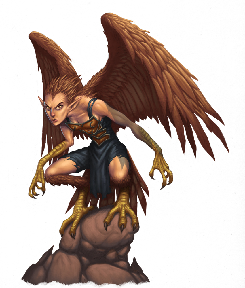 Dungeons & Dragons clipart harpy Harpy and – (Humanoid/Centauric)(Medium) Harpy