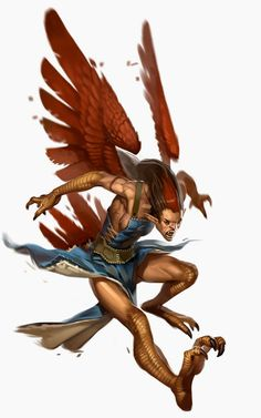 Dungeons & Dragons clipart harpy The castle of art Candra