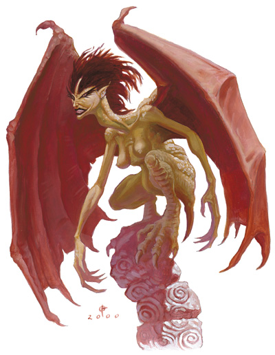 Dungeons & Dragons clipart harpy Harpie harpie