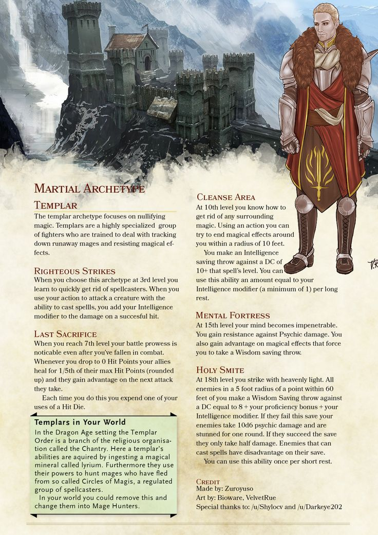 Dungeons & Dragons clipart mage hunter #9