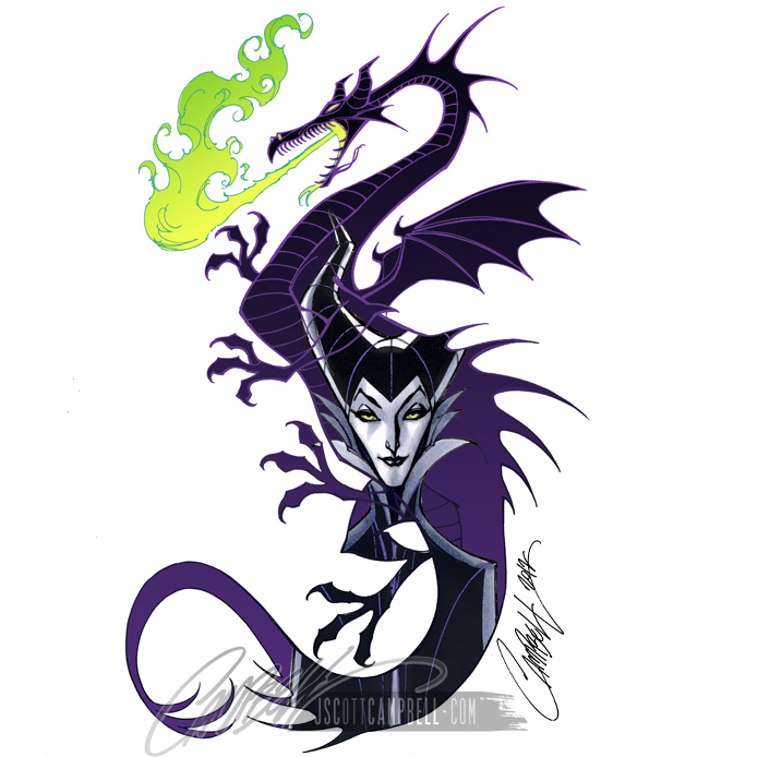 Dungeons & Dragons clipart maleficent 2 Ginnabean Maleficent/Dragon J sleepingbeautydisney