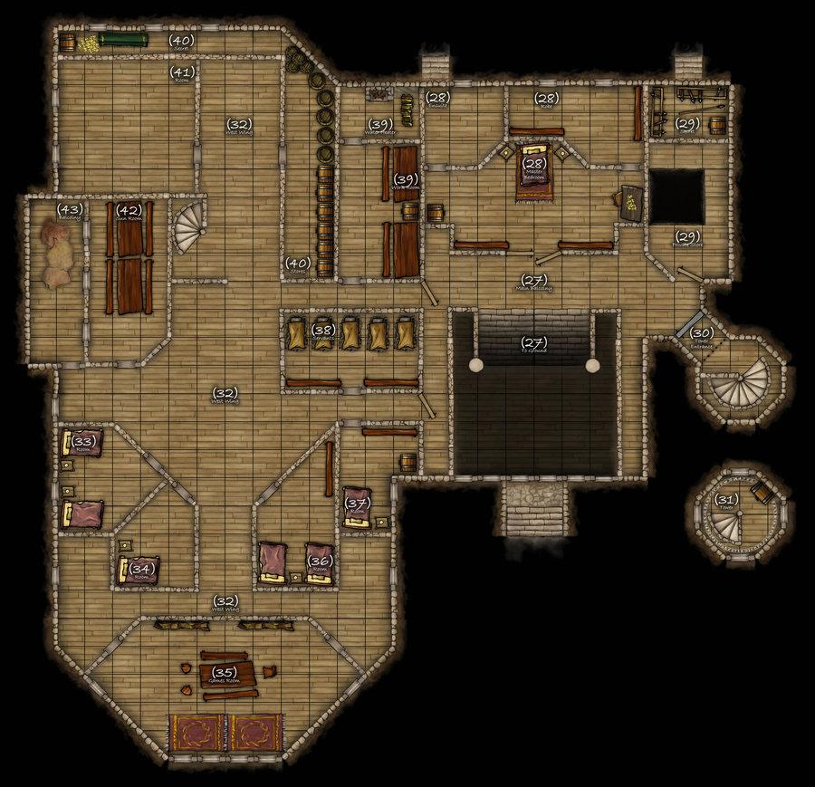 Dungeons & Dragons clipart mansion Mansion com mansion DND
