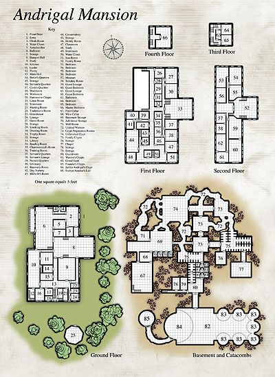 Dungeons & Dragons clipart mansion And Pin Maps Find Maps