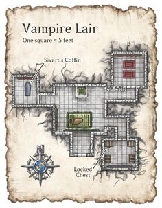 Dungeons & Dragons clipart mansion (400×514) WoL_map14 Pathfinder jpg