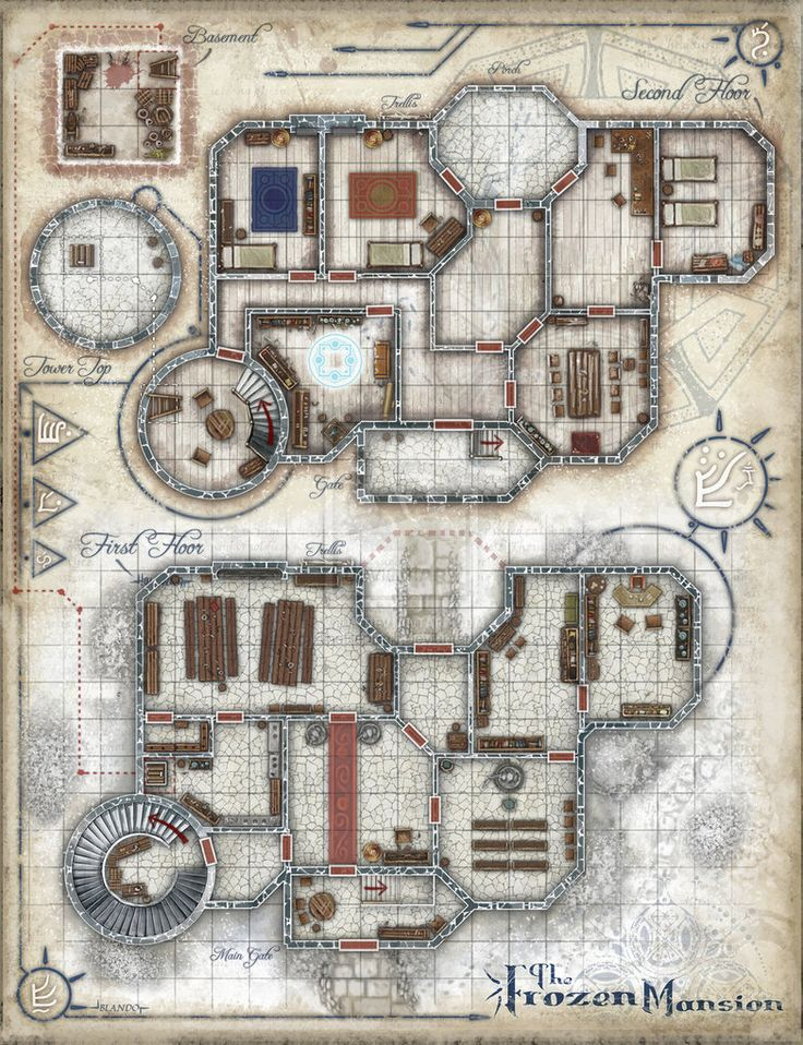 Dungeons & Dragons clipart mansion 173 Pin d_d Find Maps