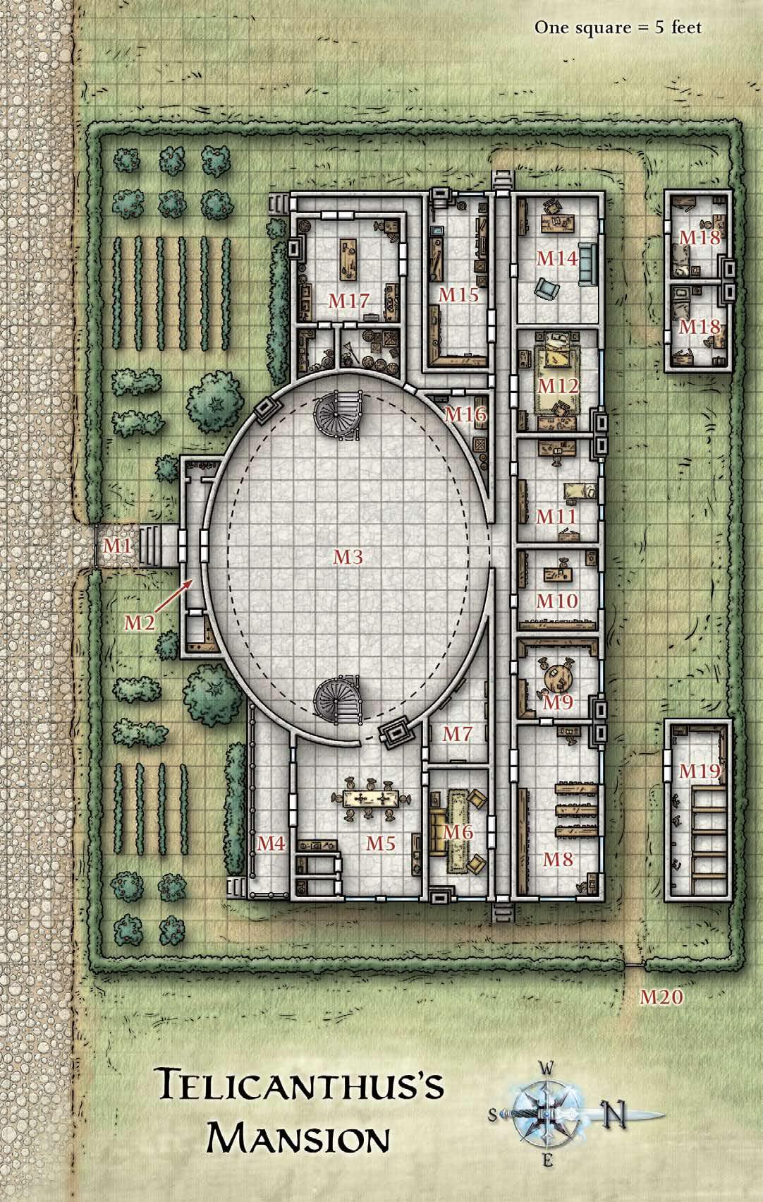 Dungeons & Dragons clipart mansion Google Skool maps SoW Old