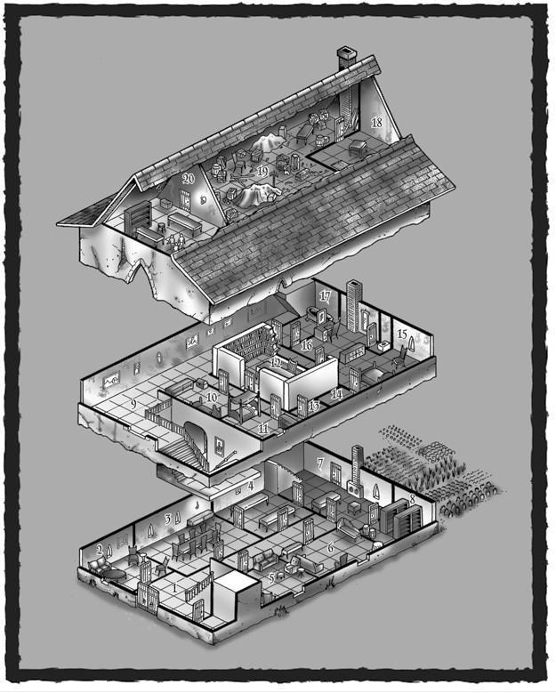 Dungeons & Dragons clipart mansion RPG ADVENTURE D&D ADVENTURE Backgrounds