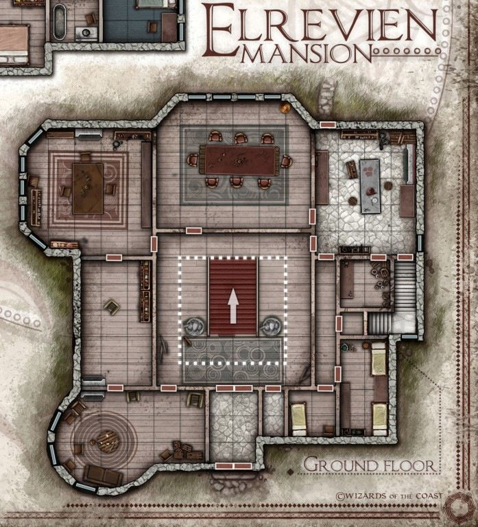 Dungeons & Dragons clipart mansion 439 Pin on Find D&D
