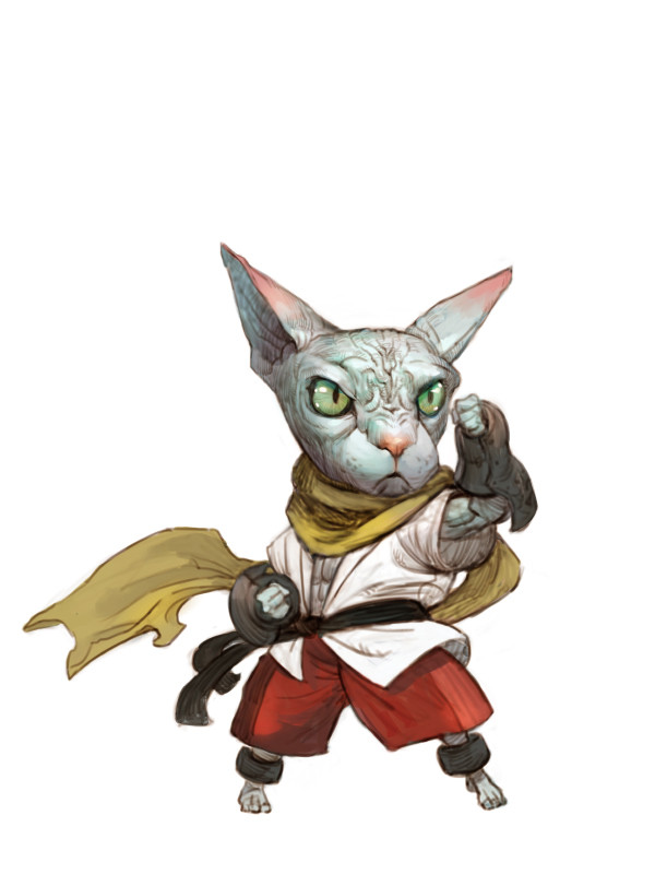 Dungeons & Dragons clipart monk D&D Album Sphynx on of