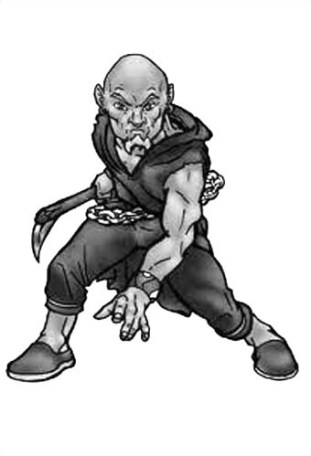 Dungeons & Dragons clipart monk Monk Image Gallery Assistance Gnome