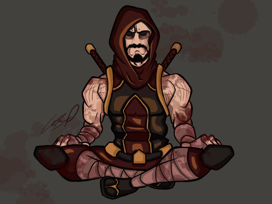 Dungeons & Dragons clipart monk Monk AnthonyParenti DnD by DnD