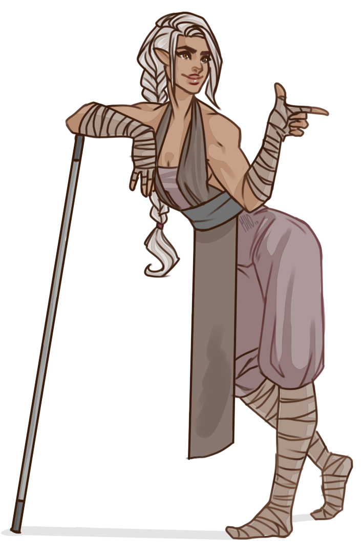 Dungeons & Dragons clipart monk Art again styles ¯\_(シ)_/ with