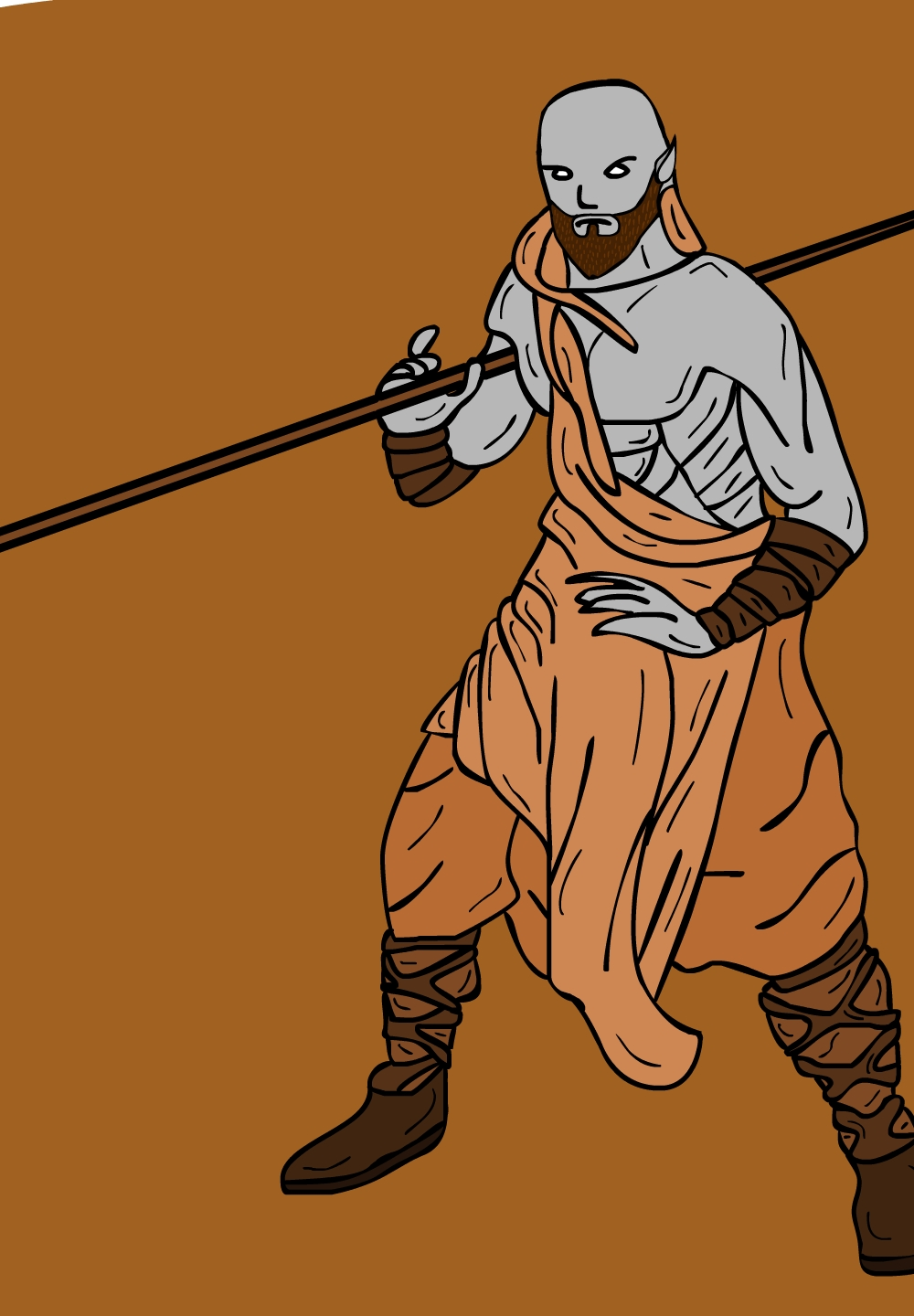 Dungeons & Dragons clipart monk Rinn Dungeons WoodElf Rinn Dragons