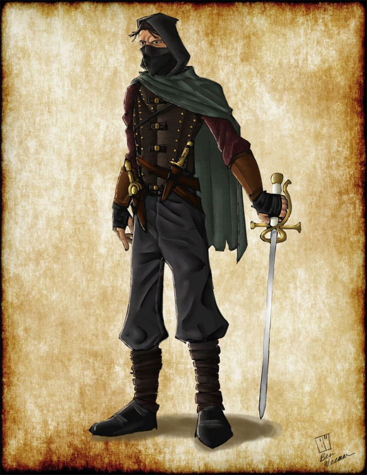 Dungeons & Dragons clipart rogue Images rogue 39 Pinterest on