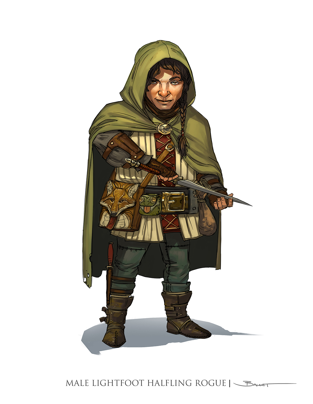 Dungeons & Dragons clipart rogue Dungeons Paul and Handbook 5th