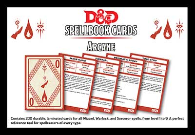 Dungeons & Dragons clipart spell card Arcane They Spellcaster felt post