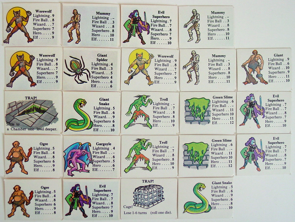 Dungeons & Dragons clipart spell card Game Monster Box? Fantasy In