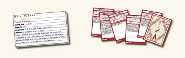Dungeons & Dragons clipart spell card Cards Do to spells? Page