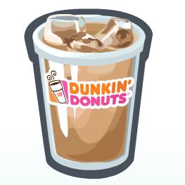 Dunkin Donuts clipart #10