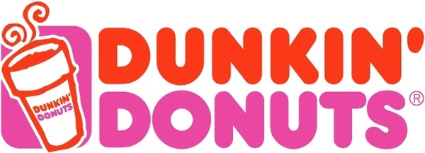 Dunkin Donuts clipart Vector) Free Dunkin donuts for
