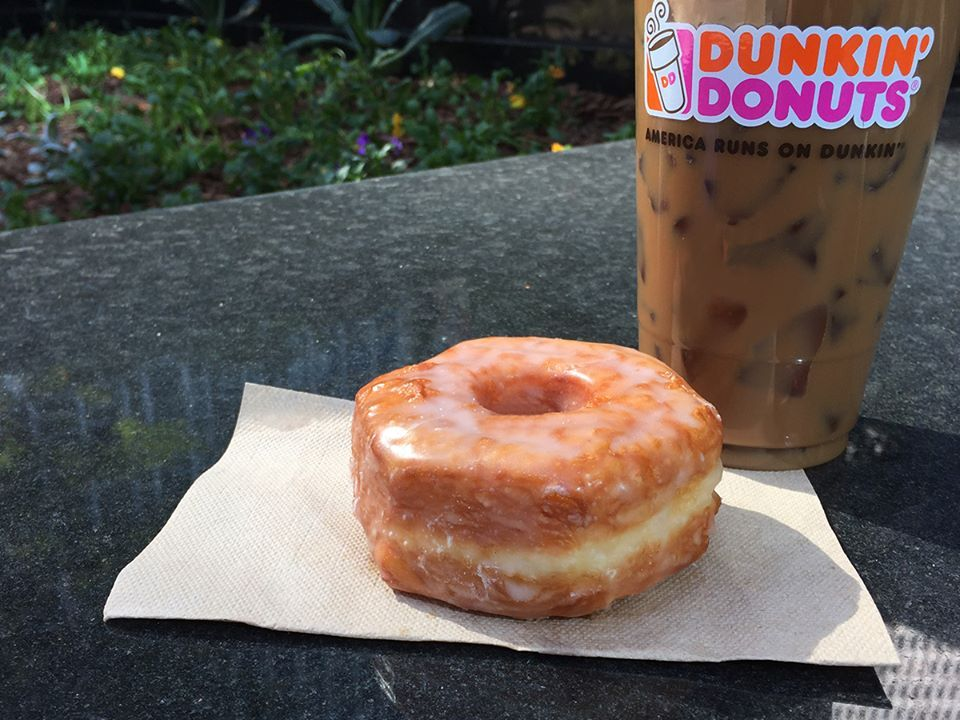Dunkin Donuts clipart breakfast pastry Greatness Of Order Flavors HuffPost