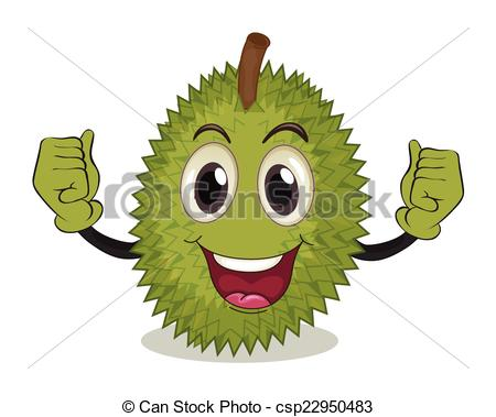 Durian clipart Of of illustration with arms