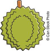 Durian clipart Vector EPS Art Durian clipart