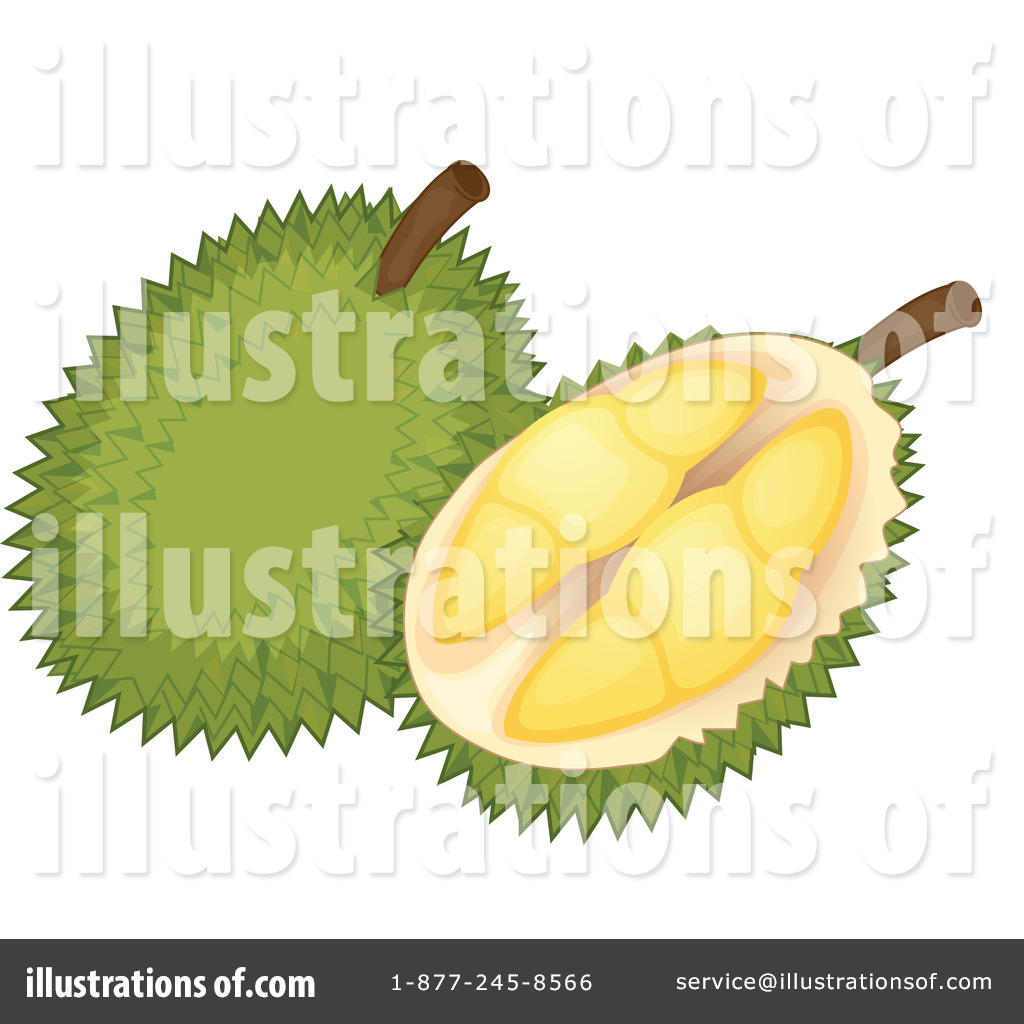 Durian clipart Durian #1120773 Illustration Durian Clipart