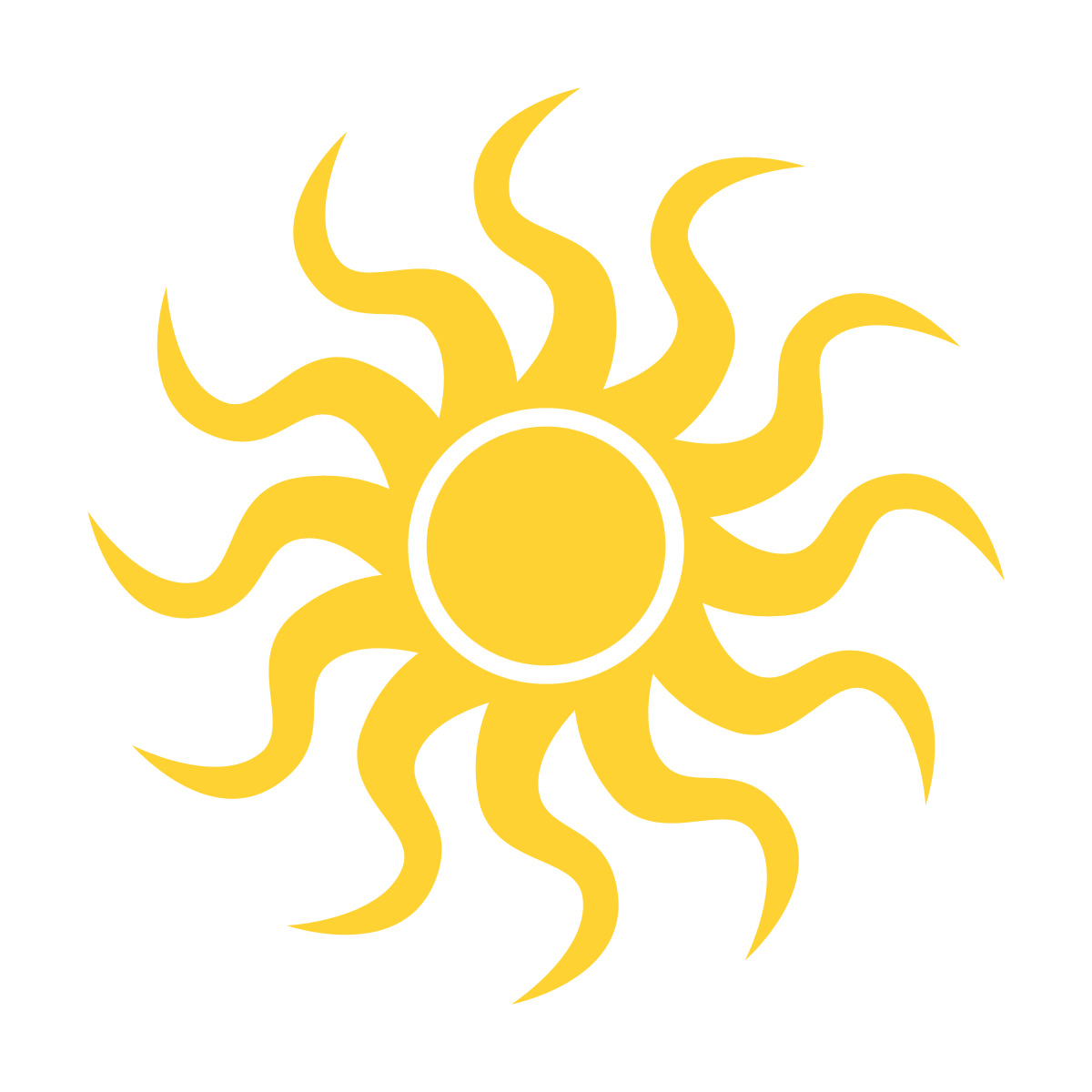 Dusk clipart half sun Group Free Clipart Pictures Images