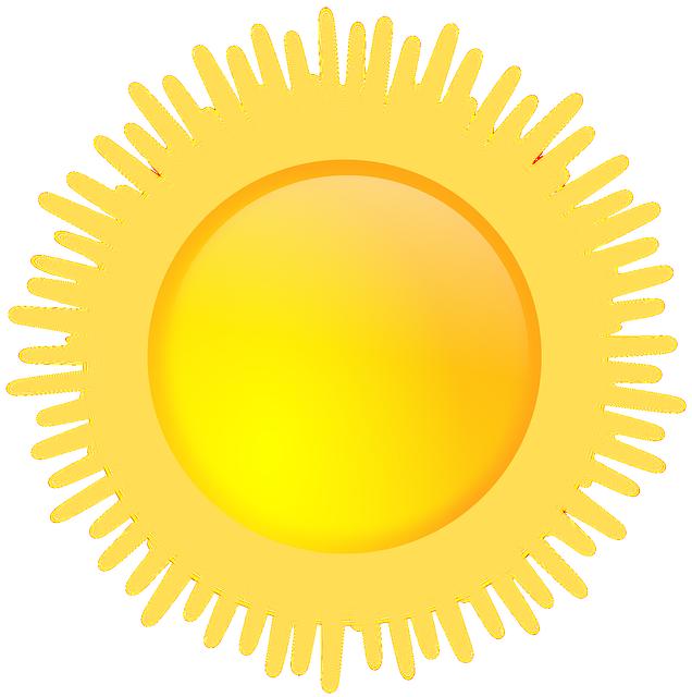 Dusk clipart matahari Sunny Evening Sunshine Weather photo