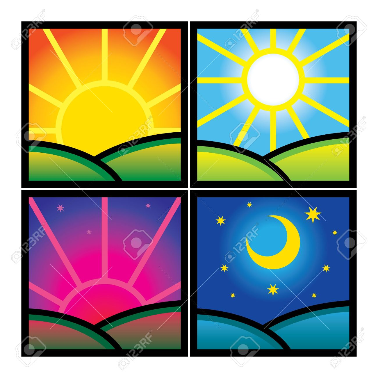 Night Sky clipart afternoon #13
