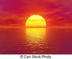 Ocean clipart ocean sunset Art Ocean Ocean Illustrations images