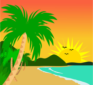 Tropical clipart hawaii #7