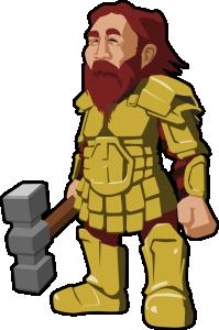 Dwarf clipart Dwarf Dwarf Warrior Clip Art