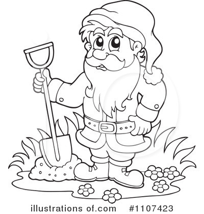 Dwarf clipart black and white By Illustration Free Clipart #1107423