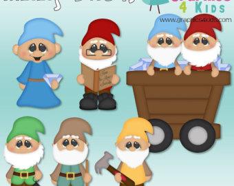 Dwarf clipart garden gnome Art clip art scrapbooking invitations