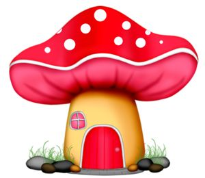 Cottage clipart mushroom Thinking MUSHROOM Spring Pinterest images