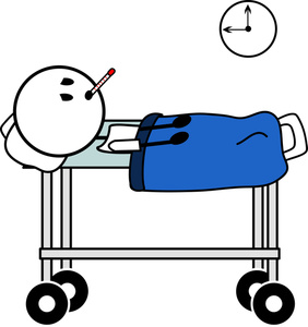 Dying clipart Hospital Cartoon Dying or Dying