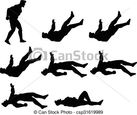 Dying clipart Animation Vector Vector of csp31619989