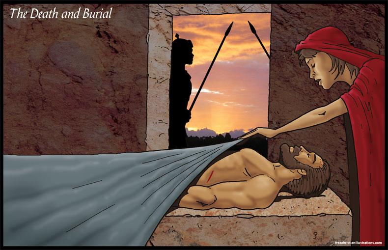 Dying clipart burial Christ Death Art Art Jesus